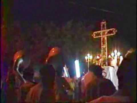 Lunes Santo 2011: Procesion de Las Animas del Purgatorio – Guadalupe