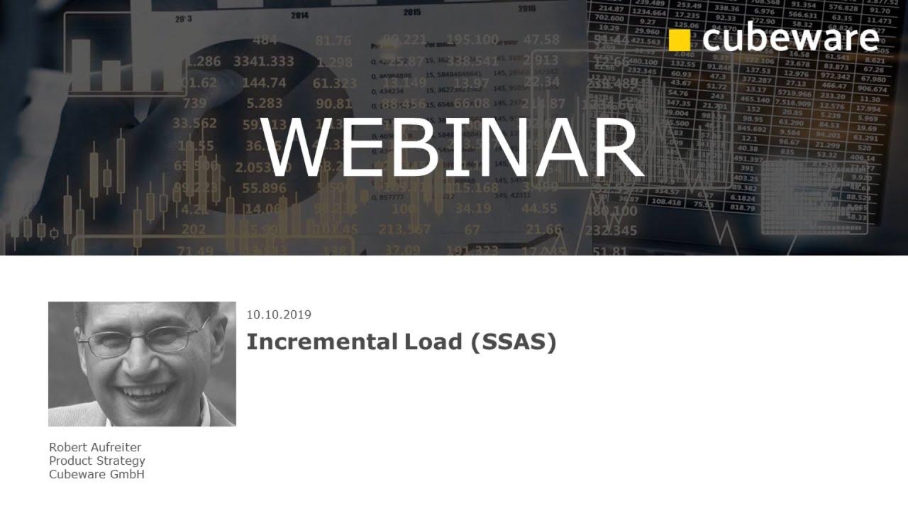 Incremental Load (SSAS)