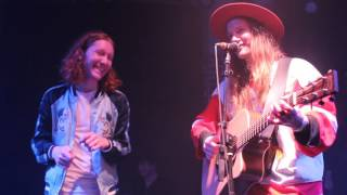 Lostboycrow x Flor - Acoustic Song at Bootleg Theatre