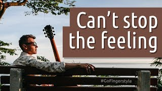 Can't stop the feeling! Fingerstyle cover by Maxim Yarushkin (Justin Timberlake song)