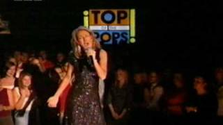 """Celine Dion """"goodbye's the saddest word""""  Top of the Pops 2002"""