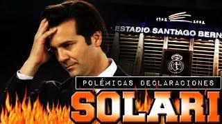 POLÉMICA SOLARI: SE CREE QUE ENTRENA AL EQUIPO DE MI BARRIO Y NO AL REAL MADRID
