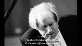 J. S. Bach - Goldberg Variations BWV 988 - 19. Variatio 18 - Canone alla sesta (19/32)