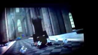 Minecraft hero vs ender man