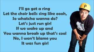 Bruno Mars - Marry You Lyrics Video