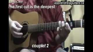 the first cut is the deepest - sheril crow - cat steven - rod stewart