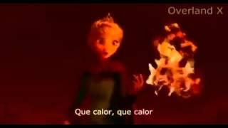 """Elsa cantando """"que calor"""""""