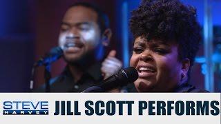 "Jill Scott performs NEW single ""Back Together"" || STEVE HARVEY"