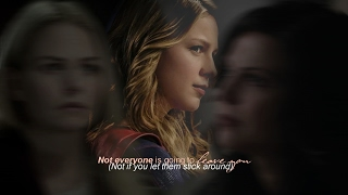 Kara Danvers // Not everyone is going to leave you (Swan Queen AU)