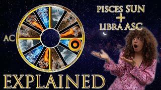 ☉ Sun in Pisces + Libra Asc (rising sign) HD width=