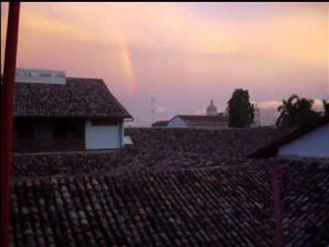 Double rainbow in Granada, Nicaragua