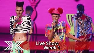 Get ready for Bratavio! | Live Shows Week 1 | The X Factor UK 2016