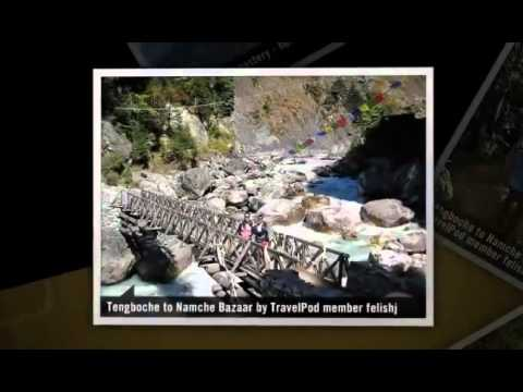 """Pangboche to Namche Bazaar (via Tengboche)"" Felishj's photos around Everest Region, Nepal"