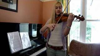 Lara plays the Chrono Trigger Theme on violin