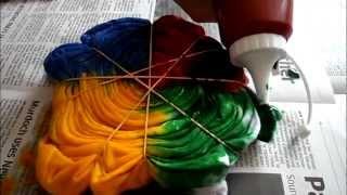 DIY (do it yourself) Tie dye shirts