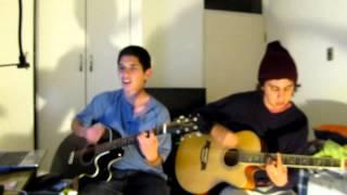 Yo lloraré por ti cover acústico  (De Saloon) - Alexis y Carlos.