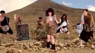 ZOMBINA AND THE SKELETONES - Teenage Caveman Beat Gargantua [Official Video] HD