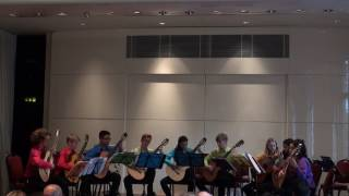 National Youth Guitar Ensemble play Troika - S.Prokofieff (arr. C.Susans)