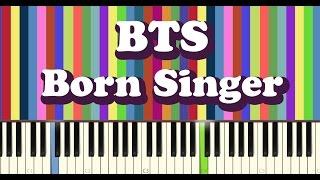 BTS(방탄소년단) - Born Singer - piano cover
