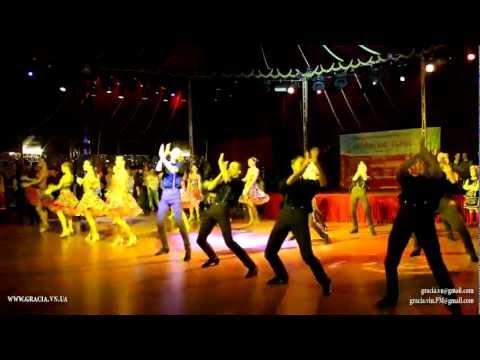 """Ансамбль """"Грация"""" – фестиваль """"Магия танца"""" г.Киев 03.03.2012"""