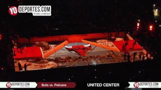 Chicago Bulls vs. New Orleans Pelicans line up