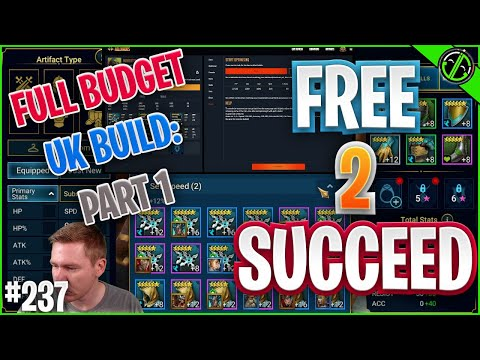 The ENTIRE Process of Building A Budget Unkillable Team - Part 1 | Free 2 Succeed - EPISODE 237