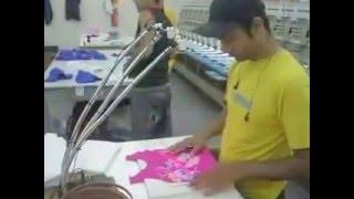Alinhador Laser Max - Preparando um Bordado Barbie