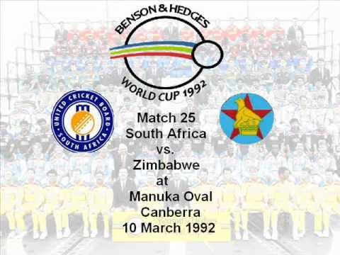 South Africa vs Zimbabwe 1992 Cricket World Cup