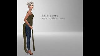 Sims 4 Create A Sim   Aili Story   ViridianSimmer