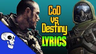 Destiny VS Call of Duty RAP BATTLE [Lyric Video] by BrySi + JT Machinima