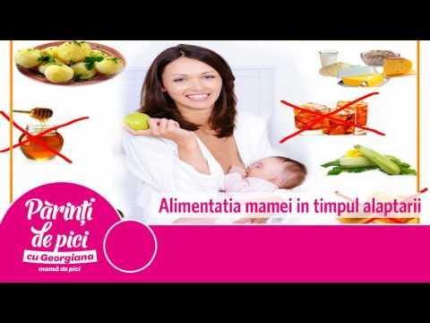 Alimentatia mamei in timpul alaptarii
