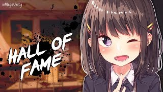 Nightcore - Hall Of Fame | Lyrics