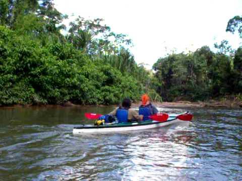 Kayaking with the Huaorani