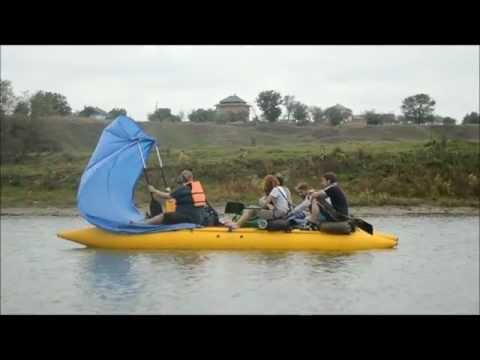 Сплав по річці Серет та Дністер / Rafting in Ukraine