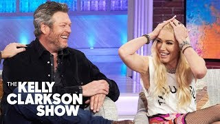 Blake Shelton's Manly Ranch Moves Won Over Gwen Stefani's Family: Hear Her Hilarious Story!