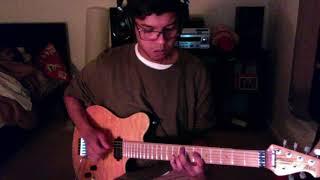 Logic - Black SpiderMan ft. Damian Lemar Hudson (Riff on guitar + TAB)