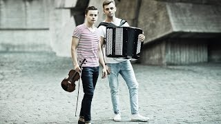 Kiesza - Hideaway (violin and button accordion cover) by cover group  MODERN FLY