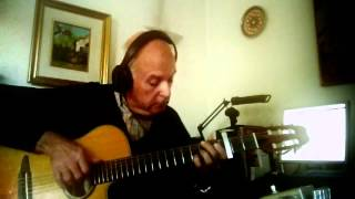 """Everything I Own"" 1972 Bread cover   Daniel Talevi Acoustic Guitar Finger Style"