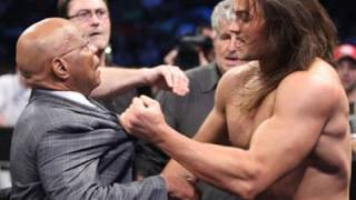 SmackDown: Teddy Long strips Drew McIntyre of the
