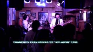 Promo concierto Los Pocos en programa Aplauso
