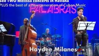 Autoridades cubanas cancelan concierto de reconocida cantante estadounidense en La Habana