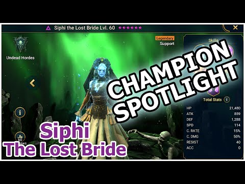 RAID Shadow Legends | Champion Spotlight | Siphi The Lost Bride