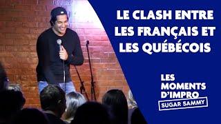 Humour: Sugar Sammy et le clash entre les Français et les Québecois