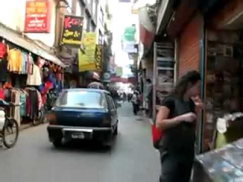 Quick tour of Thamel – in Kathmandu Nepal