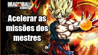 Dragon Ball Xenoverse - Dica #14 - Como acelerar as missões dos mestres