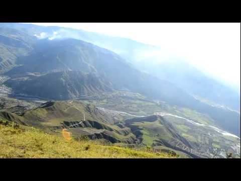Una vista al Valle del Chota desde lo mas alto