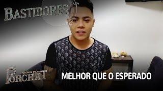 EXCLUSIVO! Felipe Araújo curte participação no Programa do Porchat