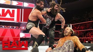 The B-Team vs. The Deleters of Worlds - Raw Tag Team Championship Match: Raw, July 23, 2018