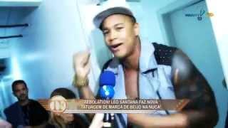 TV Fama: Léo Santana não quer mais beijinhos na nuca