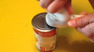 How To Use a Can Opener That Doesn't Leave Sharp Edges
